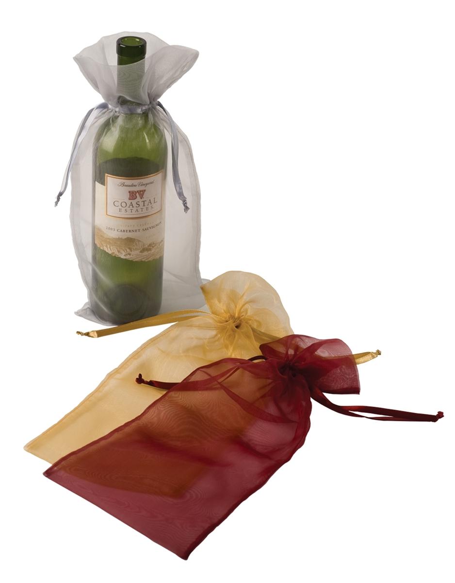 Завернуть бутылку в подарок