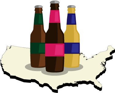 Top 10 Craft Brew States