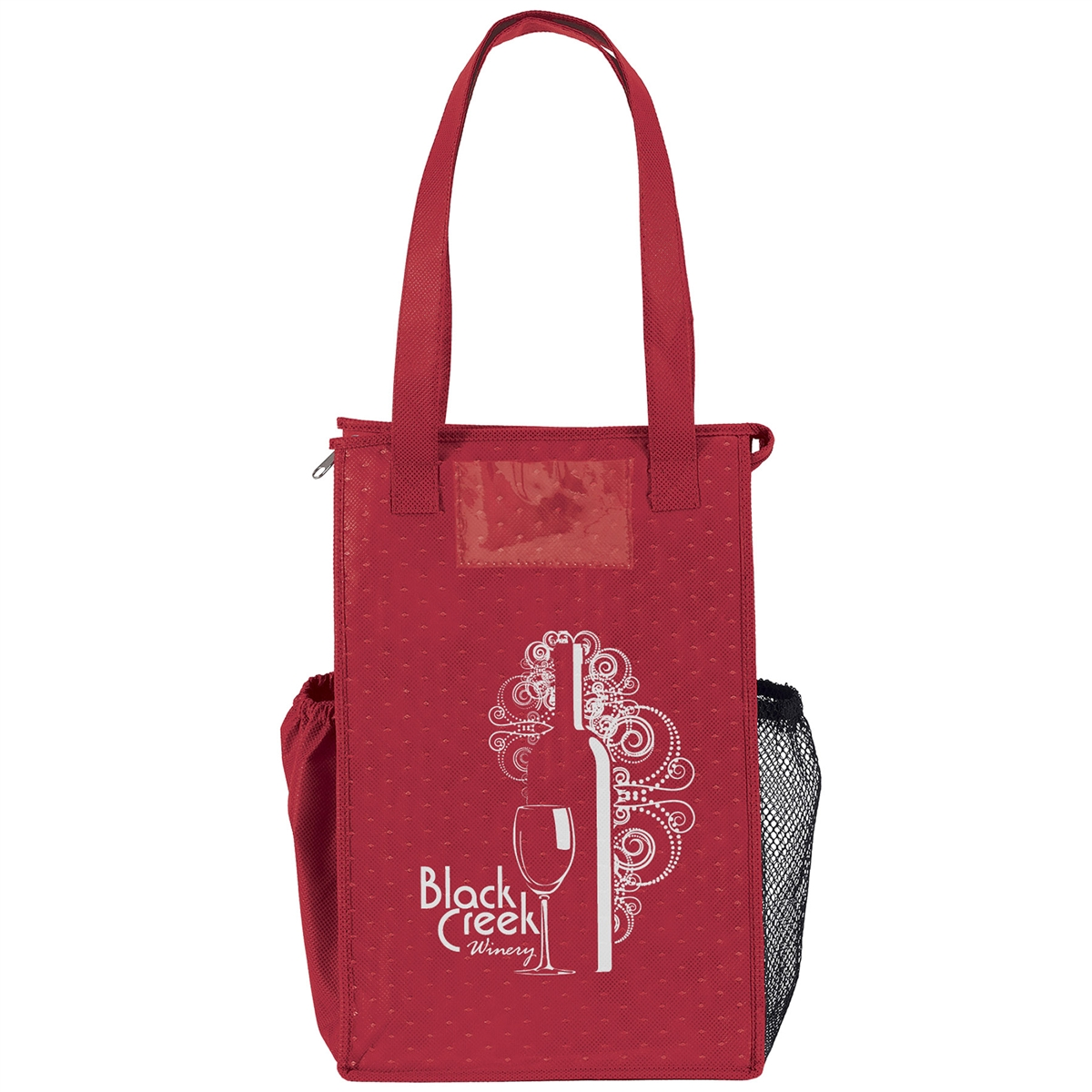 Insulated Super Snack Grocery Style Bag Wine Bags Com
