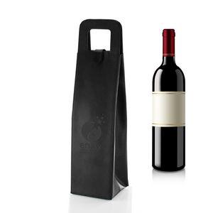 Balsamo Bonded Leather Wine Bottle Tote Bag