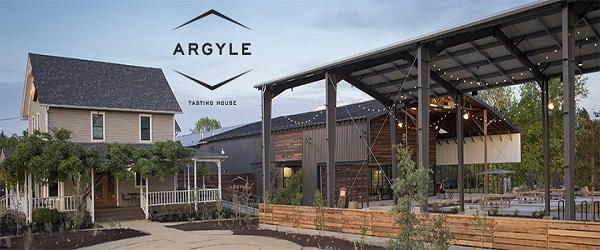 Argyle's new tasting room, Dundee, Willamette Valley, Oregon