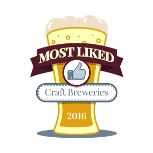 Top 100 Most 'Liked' Craft Breweries of 2016
